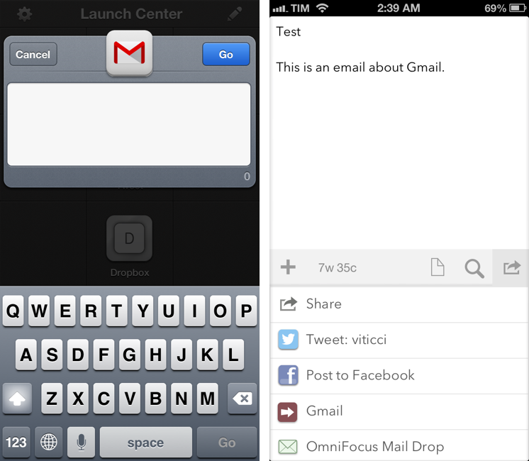 Gmail for iOS URL Scheme